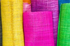 Textile rolls Royalty Free Stock Photo