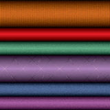 Textile rolls Stock Photography