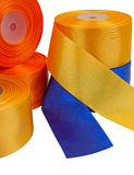 Textile rolls Stock Image