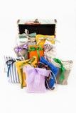 Textile sachet pouches Stock Photography