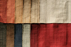 Textile sampler Royalty Free Stock Images