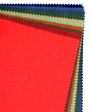 Textile sampler Royalty Free Stock Image