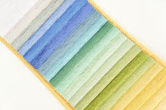 Textile samples Stock Photos
