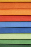 Textile samples Stock Photo