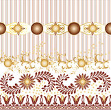 Textile Seamless pattern design for woman wears Royalty Free Stock Photo