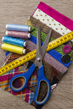 Textile and Sewing items Stock Photos