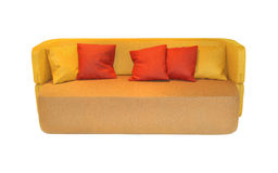 Textile sofa Stock Photography