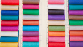 Textile souk in Dubai Royalty Free Stock Photo