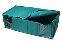 Textile storage box Royalty Free Stock Photos
