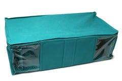 Textile storage box Royalty Free Stock Photography
