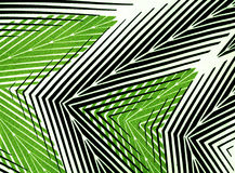 Textile striped wallpaper. Royalty Free Stock Images