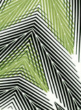 Textile striped wallpaper. Royalty Free Stock Image