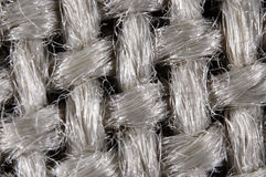 Textile structure. Of woven fibres royalty free stock photo