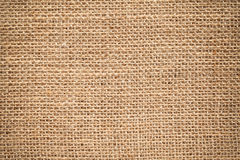 Textile surface. bagging cloth texture Stock Photography