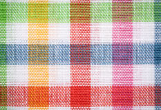 Textile surface. Multicolor cloth texture Stock Photography