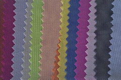 Textile swatch color Stock Images