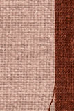 Textile tablecloth, fabric concepts, coffee canvas, fiber material, design background. Textile tablecloth, fabric concepts, coffee canvas, fiber material design Stock Image