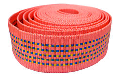 Textile tape roll Royalty Free Stock Image