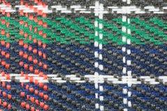 Textile texture. Multicolour macro textile texture closeup Royalty Free Stock Image