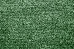 Textile texture felt fabric of green color Royalty Free Stock Images