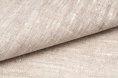 Textile, texture of linen cloth Stock Photo