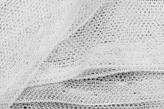 Textile texture with lines and floral pattern Royalty Free Stock Photos