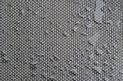 Textile texture with water drops stock photos