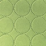 Textile textured background with circle pattern Royalty Free Stock Photos