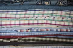 Textile textures Stock Images
