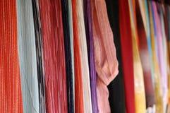 Textile thaï photographie stock