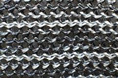 Textile tiss? vrai qui est color?, fait du mat?riel en nylon photographie stock libre de droits