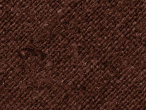 Textile tissue, fabric concepts, umber canvas, stained material, flat background Stock Image