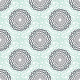 Textile vector seamless pattern. Casual fashion background texture. Mint color. Abstract fabric design Royalty Free Stock Photos