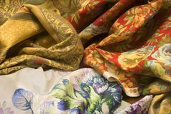 Textile from venice Royalty Free Stock Image