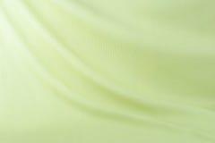 Textile vert de tissu Photographie stock libre de droits