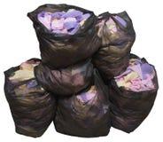 Textile waste Royalty Free Stock Image