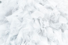 Textile white wedding dress background. Wedding gown background Stock Images