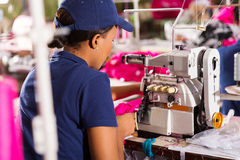 Textile worker stock photography