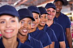 Textile workers team Royalty Free Stock Images