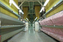 Textile workshop Royalty Free Stock Photo