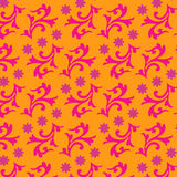 Textile or wrapping paper design in yummy colors.  seamles Stock Photo