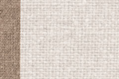 Textile yarn, fabric patch, yellow canvas, parchment material, country background Stock Photo