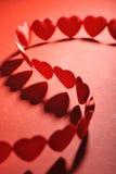 Textilehearts Imagens de Stock