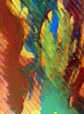 Textilen för modellen för abstrakt begrepp för vattenfärgkonstbakgrund texturerade suddig fantasi för våt wash Royaltyfri Foto
