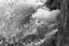 Textilen maler fördämningen fördärvar på den Enoree floden Royaltyfri Fotografi