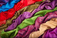 Textiles stock photography