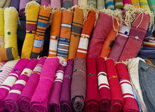 Textiles, Aix-en-Provence France Stock Images