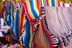 Textiles du Brésil Photographie stock