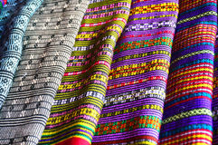 Textiles from Laos Stock Photos