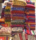 Textiles maya Image stock